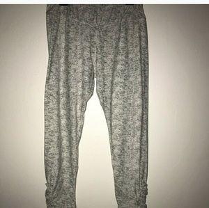 Juniors grey leggings